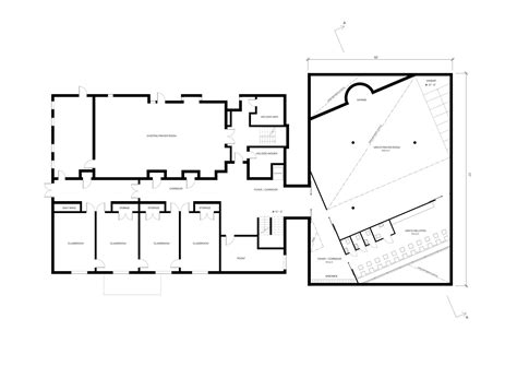 floor plan of mosque gallery of room for prayer mosque and cultural center studio 214 5