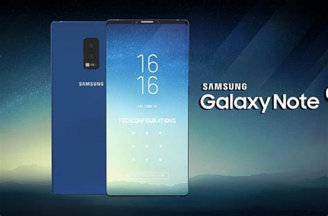 1 samsung galaxy note 9 phone samsung galaxy note 9 gets introduced to the world thanks to detailed concept phones