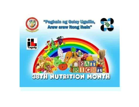 poster design nutrition month tcu nutrition month