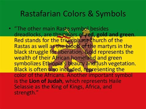 rasta colors meaning the watchman s bagpipes growth of rastafarianism