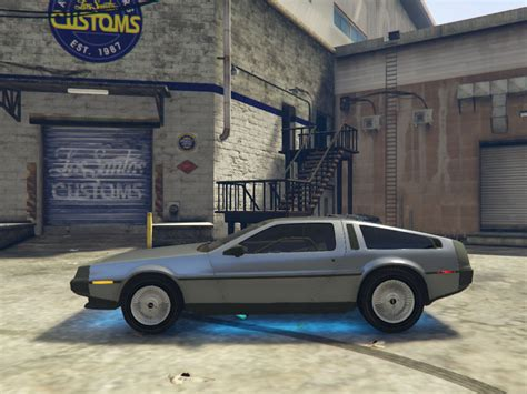 mod gta 5 delorean gta 5 delorean dmc12 1982 beta mod gtainside com