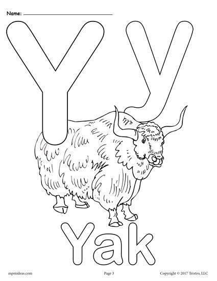 Letter Y Coloring Pages For Preschoolers by 323 Best Coloring Pages For Images On