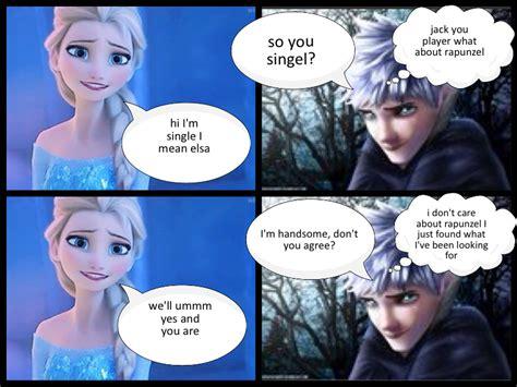 film elsa dan jack bahasa indonesia elsa and jack frost love story part 1 we heart it jack
