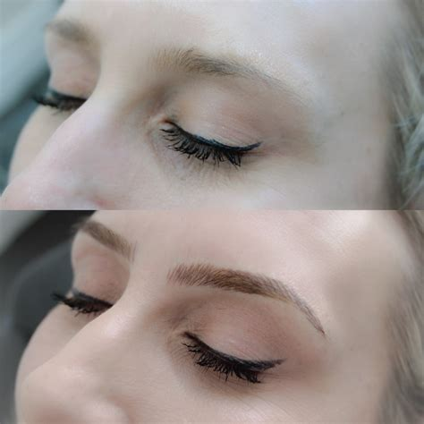 what is a feather touch eyebrow tattoo the style trust