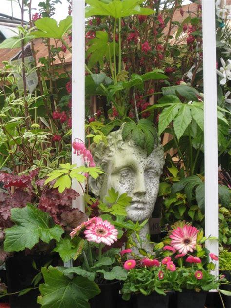 Planter Pots Framed Planter Shaped Like A Head Mygardennursery Com