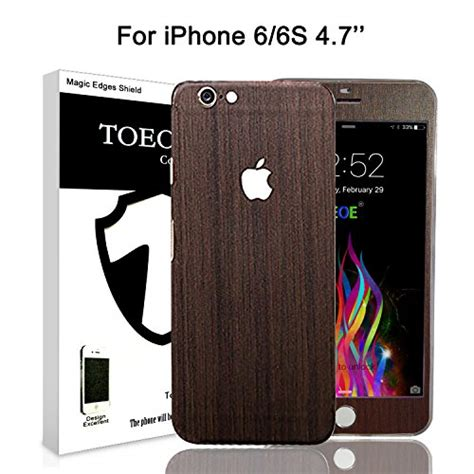 Healing Shield Design Skin For Iphone Se Canber Type Berkualitas toeoe textured wood effect skin for iphone 6 wrap import it all