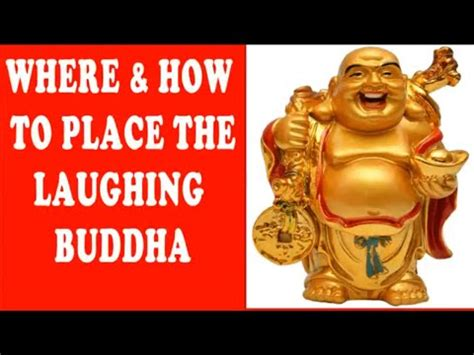 where how to place laughing buddha fengshui buddha