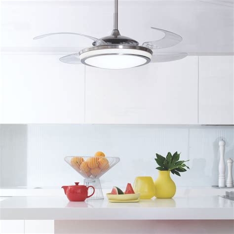 fanaway retractable blade ceiling fan pendant