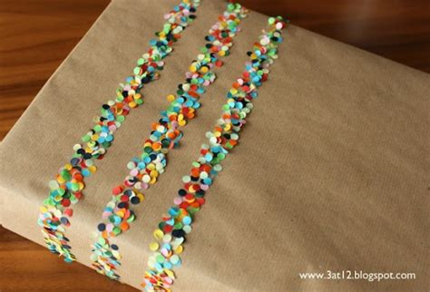 Crafts With Wrapping Paper - wrapping paper 10 and creative confetti crafts