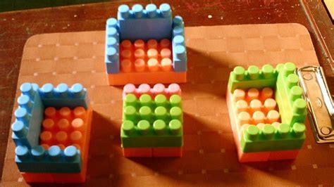 Meja Lego Lego Furniture Membuat Meja Dan Kursi Lego