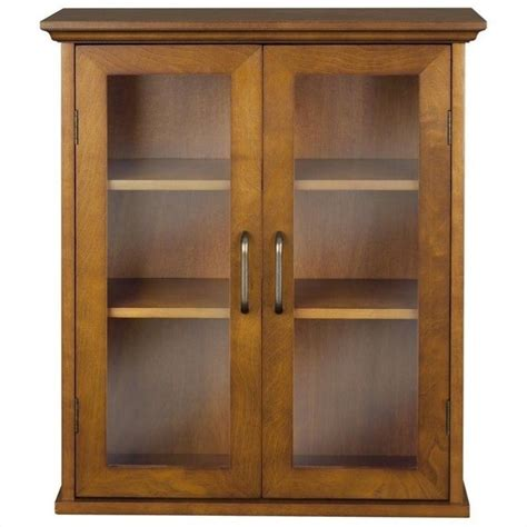 2 door wall cabinet in oak elg 540