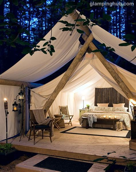 outdoor bedrooms 25 best ideas about canvas tent on canvas