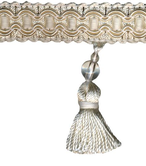 home decor trims home decor trim signature series 2 5 oyster tassel