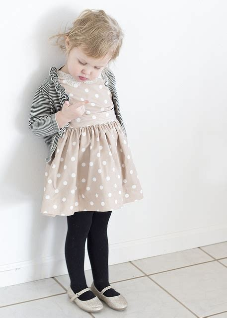 Lomg Cardy Dress Baby Stripe dots and stripes owns single one of these