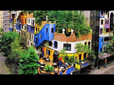 hundertwasser house hundertwasser house the most beautiful buildings in austria youtube