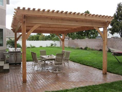 Solid Wood Patio Gazebo Plans