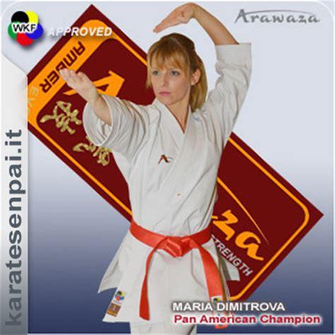 Arawaza Karategi Deluxe Karate Wkf Approved Original arawaza smai italia karate senpai