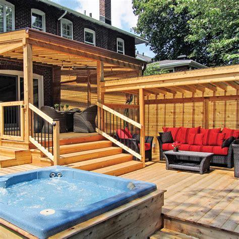 patio exterieur voisins de palier sur le patio patio inspirations