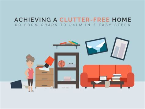 5 days to a clutter free house easy ways to clear up your space books achieving a clutter free home go from chaos to calm in 5