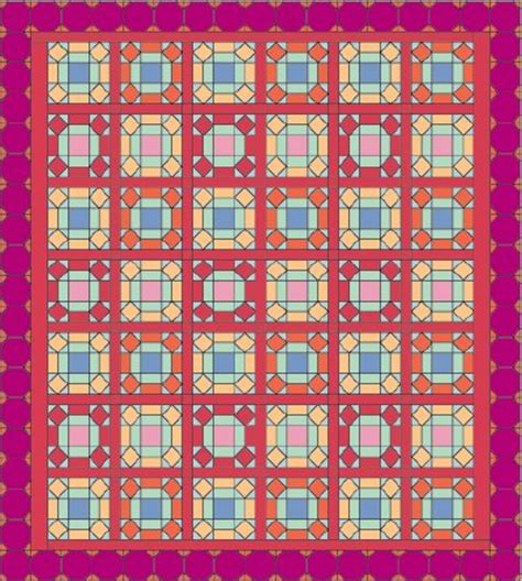 Window Pane Quilt by Window Pane Quilt Pattern Howstuffworks