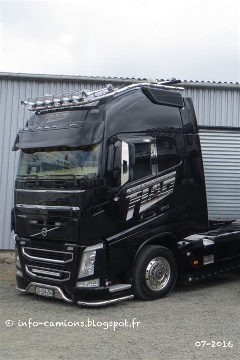 info camions volvo fh transports flao