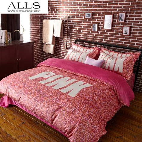 vs pink bedding wholesale pink vs secret winter bedding set velvet bed