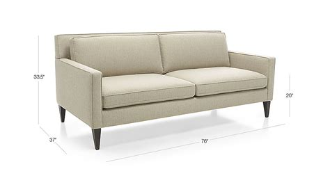 rochelle sofa crate and barrel rochelle apartment size sofa crate and barrel