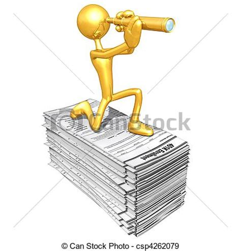Drawing 401k by Stock Illustration Of 401k Forms A Concept And