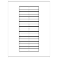 Free Avery 174 Template For Microsoft 174 Word Big Tab Insertable Dividers 11109 Avery Printable Tabs Template