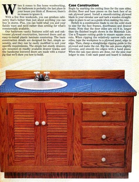 bathroom vanity plans woodworking vanity woodworking plans with perfect innovation in uk