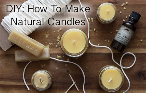 diy how to make wax candles sacred habitats