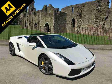 V10 Lamborghini Lamborghini Gallardo Spyder 5 0 V10 520bhp E Gear