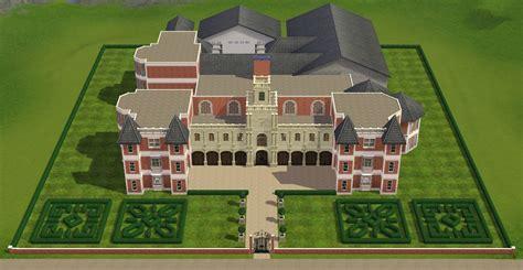 Mansion Floor Plan mod the sims croft manor
