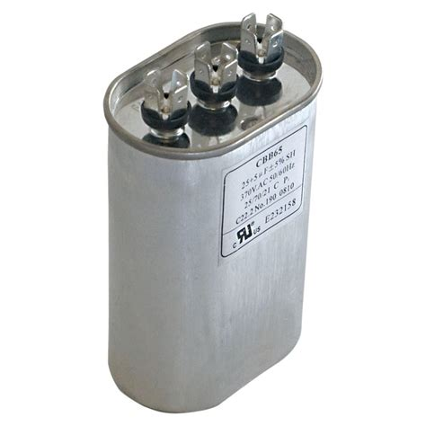capacitor 40 mfd 370 vac eastman 40 5 mfd 370 vac oval dual run capacitor 92037 the home depot