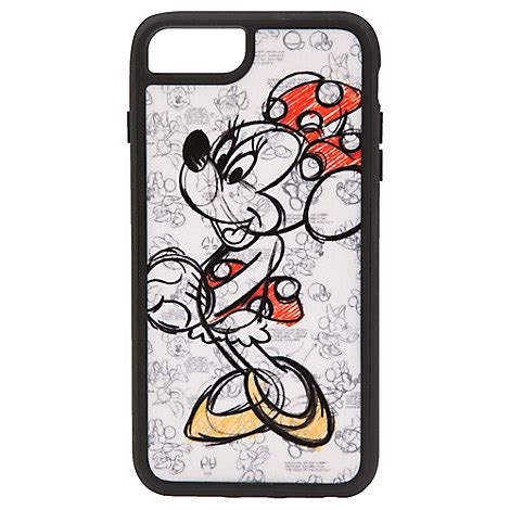 Mickey Mouse E0363 Iphone 7 Minnie Mouse Sketch Iphone 7 6 6s Plus Disney Store