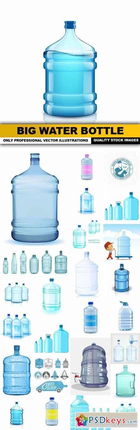 water design elements 25 vector big water bottle 25 vector 187 free download photoshop