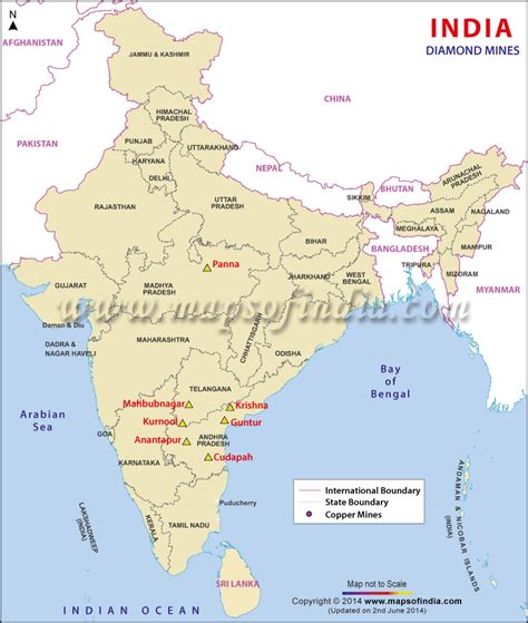 Mba In Mining In India by Mines In India Mine Location Map