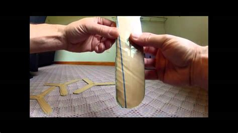How Do You Make A Boomerang Out Of Paper - how to make a cardboard paper boomerang that returns to