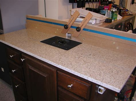 how to a granite table top granite top router table router forums