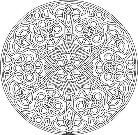 elaborate coloring pages for adults elaborate celtic mandala cool mandala coloring pages