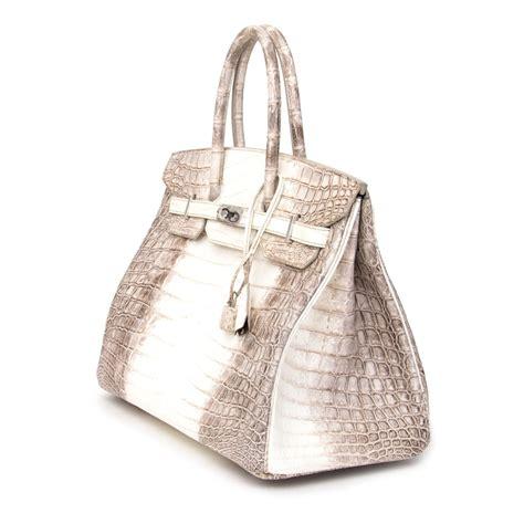 H Mes Birkin Croco Himalaya sac hermes croco rubis grey birkin bag