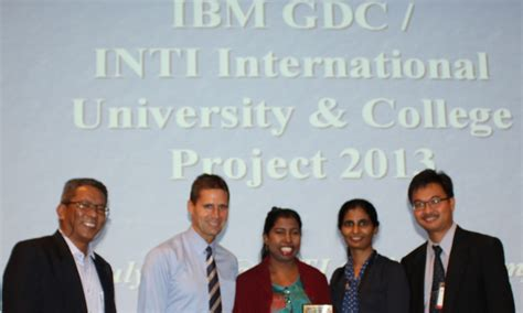 Inti Mba by Partnered With Malaysia S Inti To Solve