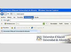 Cómo cambiar el idioma en Internet Explorer. Servicio de ... Lenguaje De Internet
