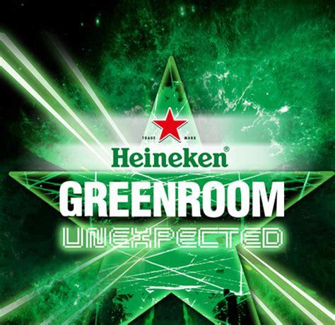 heineken green room heineken green room