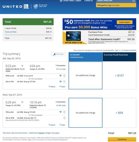 united airlines booking 88 dallas to 5 eastern cities r t fly com travel blog