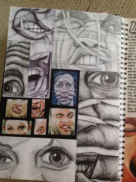 sketchbook for the artist page from human form as sketchbook a level