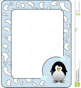 A Frame Plans Free Frame With Penguin Royalty Free Stock Photo Image 8599955