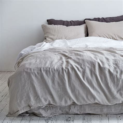 Linen Doona Cover Navy Duvet Cover Bed Cover Sets Duvet Linen Bed Set