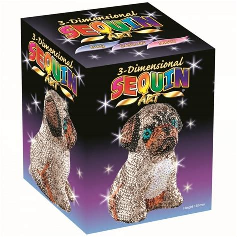 3d pug puzzle sequin 3d pug craftyarts co uk