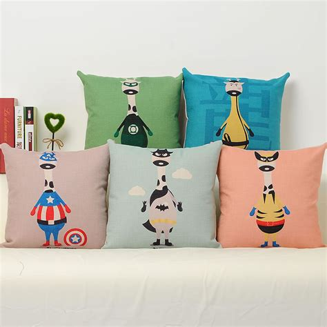 Pillow Character by Creative America Character Linen Pillowcase Luxury